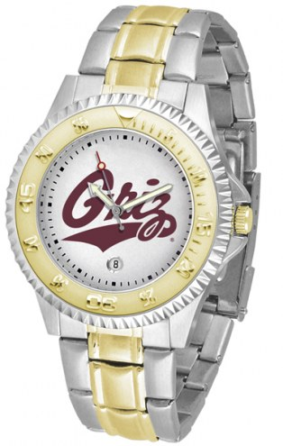 Montana Grizzlies Competitor Two-Tone Men's Watch