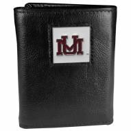 Montana Grizzlies Deluxe Leather Tri-fold Wallet in Gift Box