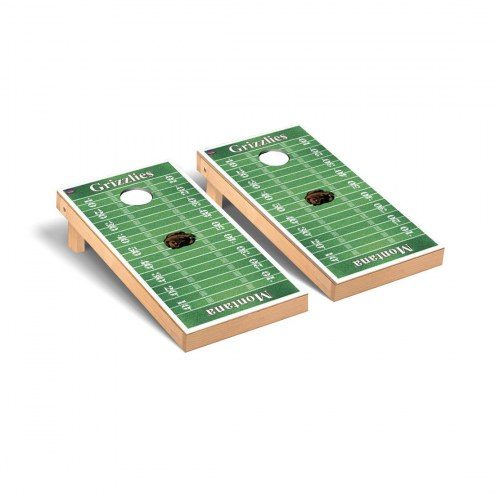 Montana Grizzlies Football Field Cornhole Game Set