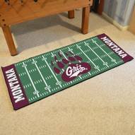 Montana Grizzlies Football Field Runner Rug