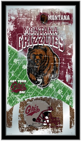 Montana Grizzlies Football Mirror