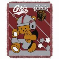 Montana Grizzlies Fullback Baby Blanket