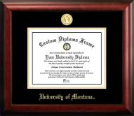 Montana Grizzlies Gold Embossed Diploma Frame