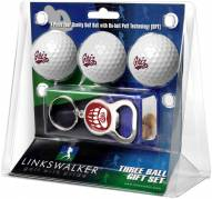 Montana Grizzlies Golf Ball Gift Pack with Key Chain