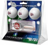 Montana Grizzlies Golf Ball Gift Pack with Kool Tool