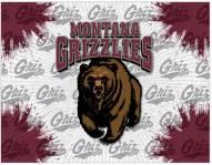 Montana Grizzlies Logo Canvas Print