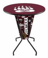 Montana Grizzlies Indoor Lighted Pub Table