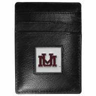 Montana Grizzlies Leather Money Clip/Cardholder in Gift Box