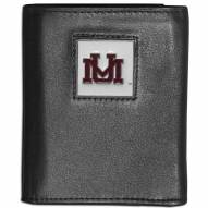 Montana Grizzlies Leather Tri-fold Wallet