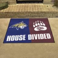Montana Grizzlies/Montana State Bobcats House Divided Mat