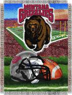 Montana Grizzlies NCAA Woven Tapestry Throw Blanket