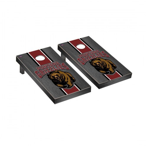 Montana Grizzlies Onyx Stained Cornhole Game Set