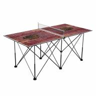Montana Grizzlies Pop Up 6' Ping Pong Table