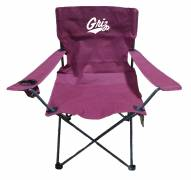 Montana Grizzlies Rivalry Folding Chair