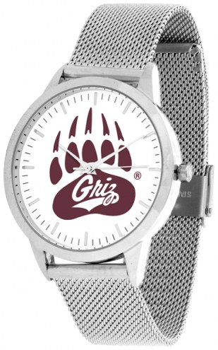 Montana Grizzlies Silver Mesh Statement Watch