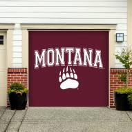 Montana Grizzlies Single Garage Door Banner