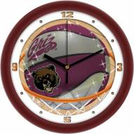 Montana Grizzlies Slam Dunk Wall Clock