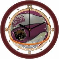 Montana Grizzlies Slam Dunk Wall Clock