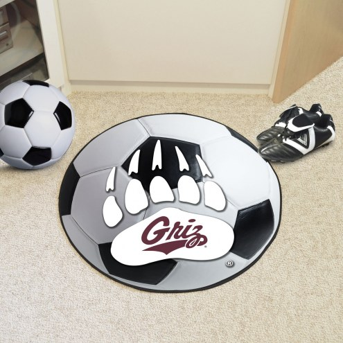 Montana Grizzlies Soccer Ball Mat
