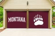 Montana Grizzlies Split Garage Door Banner