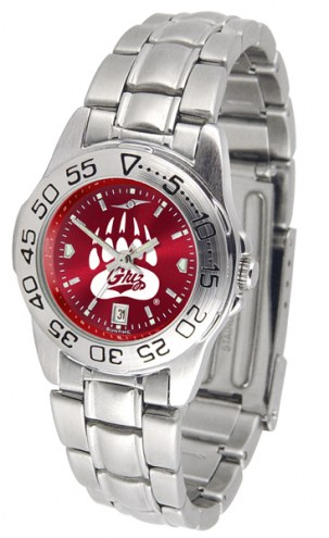Montana Grizzlies Sport Steel AnoChrome Women's Watch