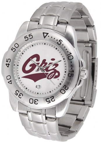 Montana Grizzlies Sport Steel Men's Watch