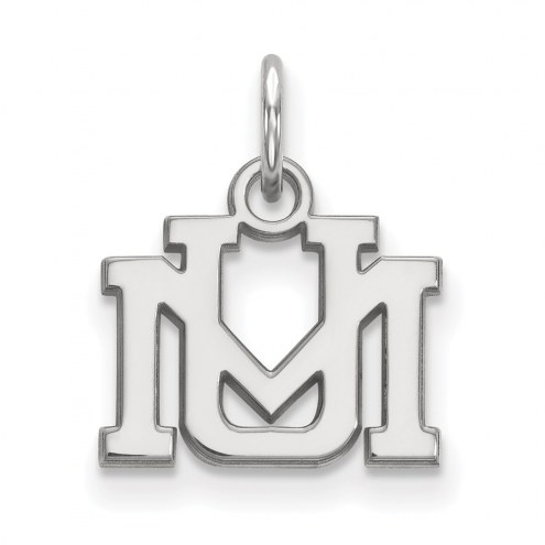 Montana Grizzlies Sterling Silver Extra Small Pendant