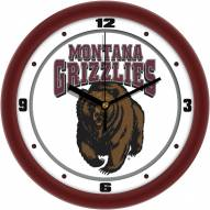 Montana Grizzlies Traditional Wall Clock