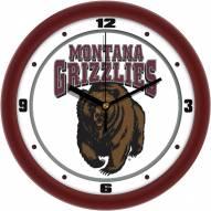 Montana Grizzlies Traditional Wall Clock