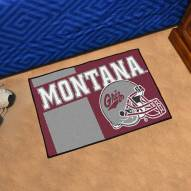 Montana Grizzlies Uniform Inspired Starter Rug