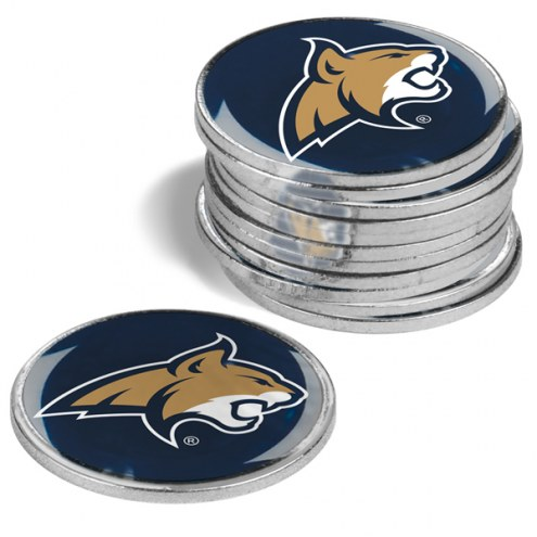 Montana State Bobcats 12-Pack Golf Ball Markers