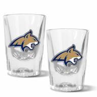 Montana State Bobcats 2 oz. Prism Shot Glass Set
