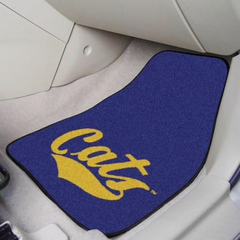 Montana State Bobcats 2-Piece Carpet Car Mats