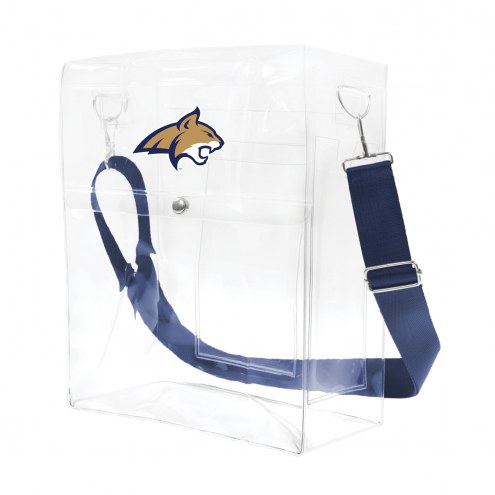 Montana State Bobcats Clear Ticket Satchel