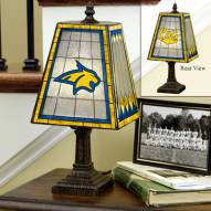 Montana State Bobcats Art Glass Table Lamp