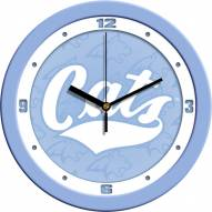 Montana State Bobcats Baby Blue Wall Clock