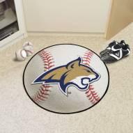 Montana State Bobcats Baseball Rug