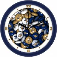 Montana State Bobcats Candy Wall Clock