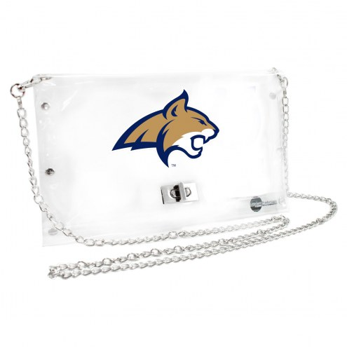 Montana State Bobcats Clear Envelope Purse