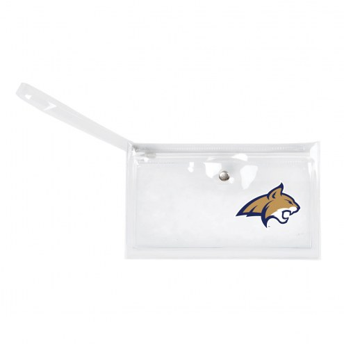 Montana State Bobcats Clear Ticket Wristlet