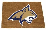 Montana State Bobcats Colored Logo Door Mat