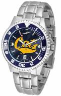 Montana State Bobcats Competitor Steel AnoChrome Color Bezel Men's Watch