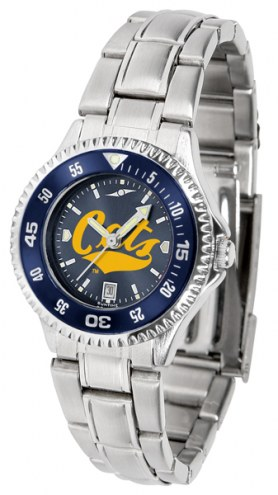 Montana State Bobcats Competitor Steel AnoChrome Women's Watch - Color Bezel