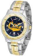 Montana State Bobcats Competitor Two-Tone AnoChrome Men's Watch