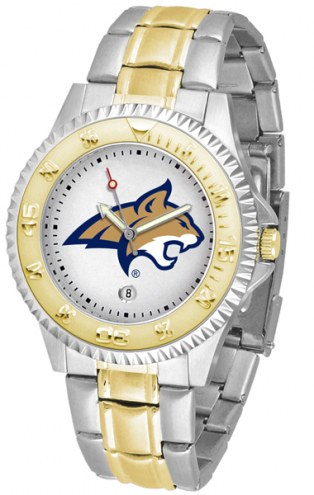 Montana State Bobcats Competitor Two-Tone Men's Watch