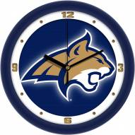 Montana State Bobcats Dimension Wall Clock