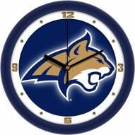 Montana State Bobcats Dimension Wall Clock
