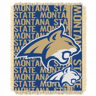 Montana State Bobcats Double Play Woven Throw Blanket
