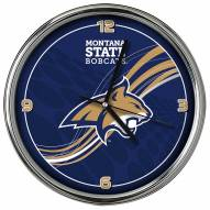 Montana State Bobcats Dynamic Chrome Clock