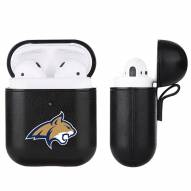 Montana State Bobcats Fan Brander Apple Air Pods Leather Case